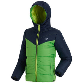 Regatta Lofthouse II Jacket Kids Navy/Fairway Green